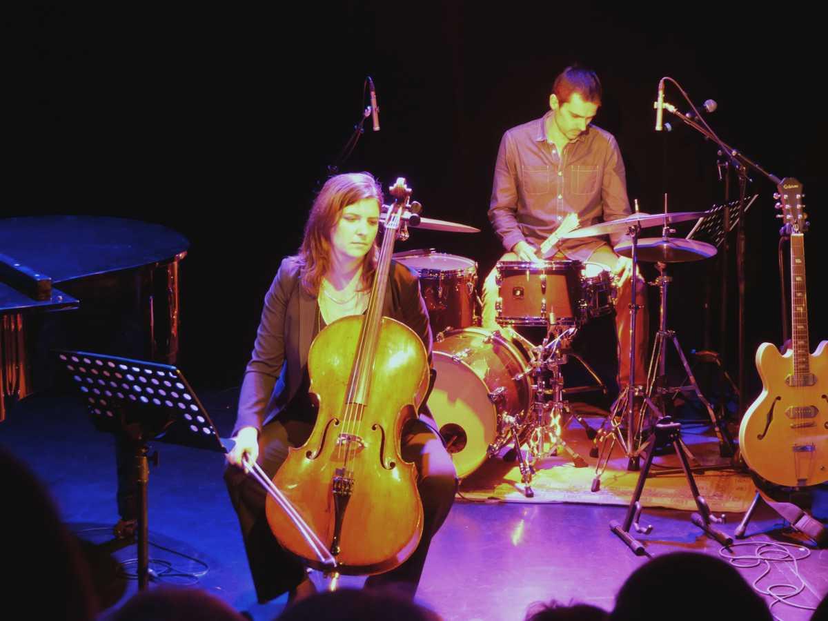 Mathieu Chrétien, Marine Rodallec, concert Théâtre et Chansons décembre 2014, Aix-en-Provence photo Claire Jourdan