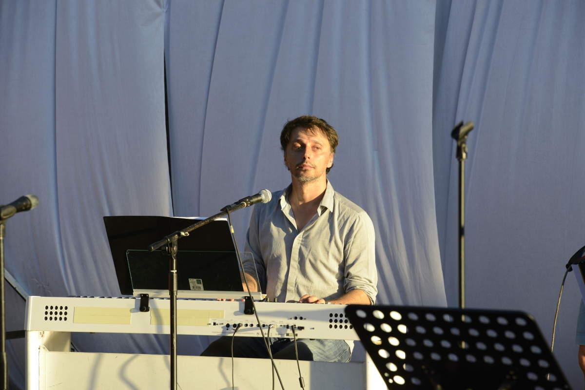 Mathieu Pirró à l'Entrepôt, Venelles, 2014, photo Karine Joly